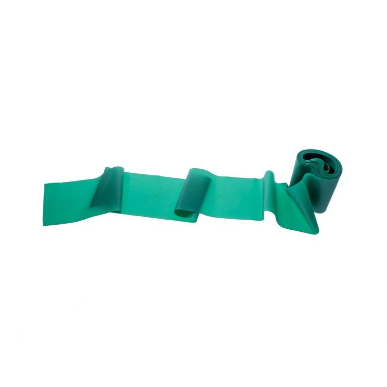 MED80-Green Latex Free Exercise Band 50 Metre Roll
