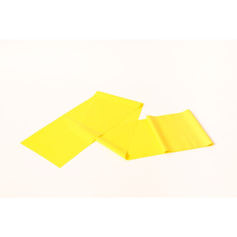 SMTR204-Yellow Latex Exercise Band 50 Metre Roll
