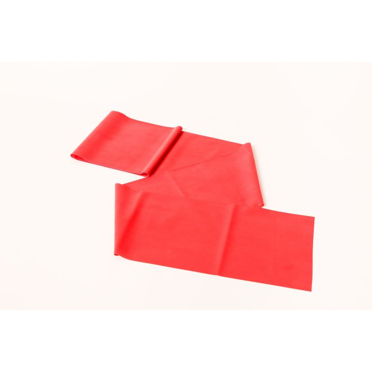 SMTR205-Red Latex Exercise Band 50 Metre Roll