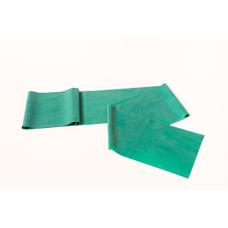 SMTR206-Green Latex Exercise Band 50 Metre Roll
