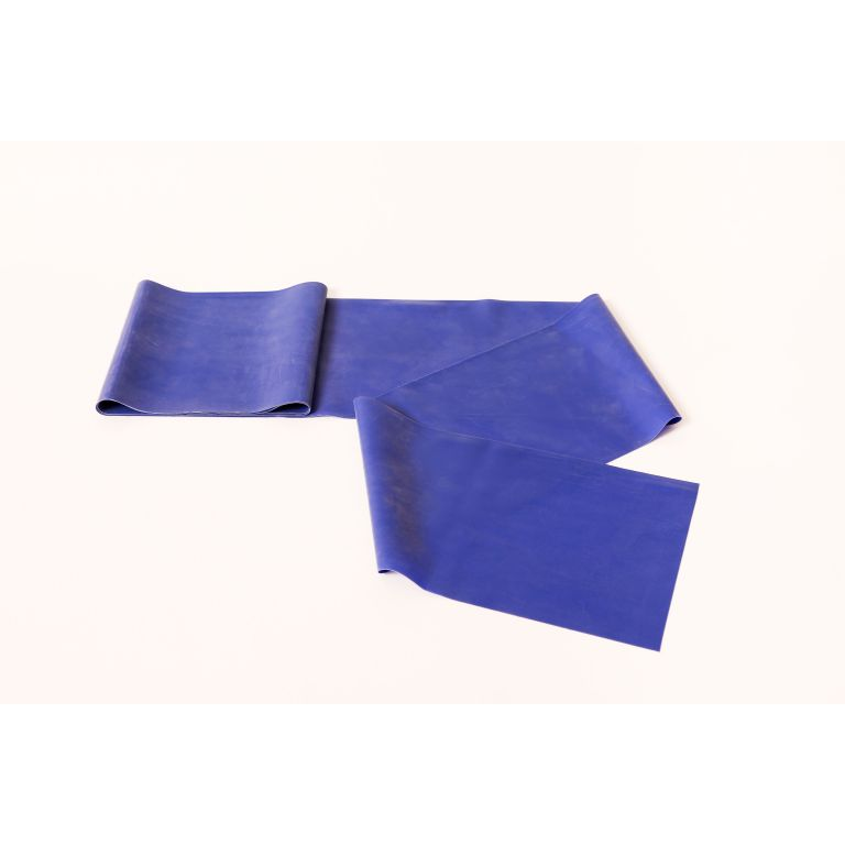 SMTR207-Blue Latex Exercise Band 50 Metre Roll