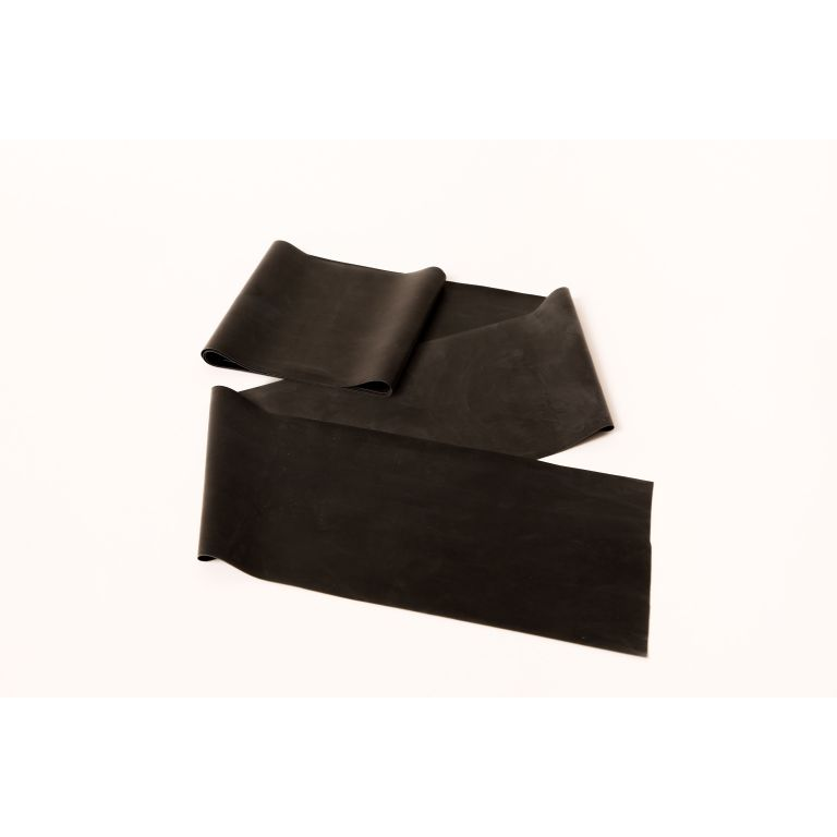 SMTR208-Black Latex Exercise Band 50 Metre Roll